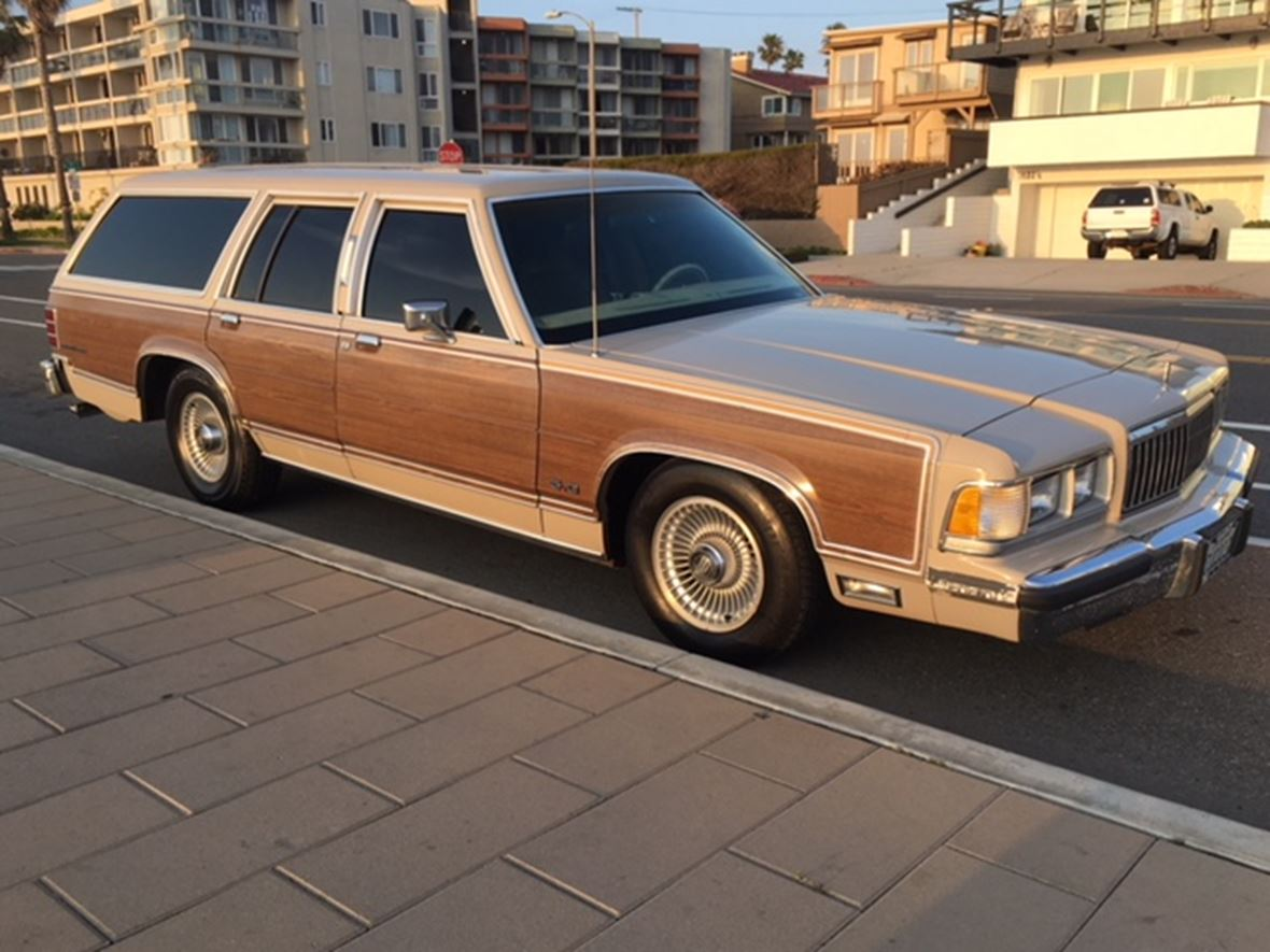 1991 Mercury Grand Marquis Colony Park for sale by owner in Redondo Beach