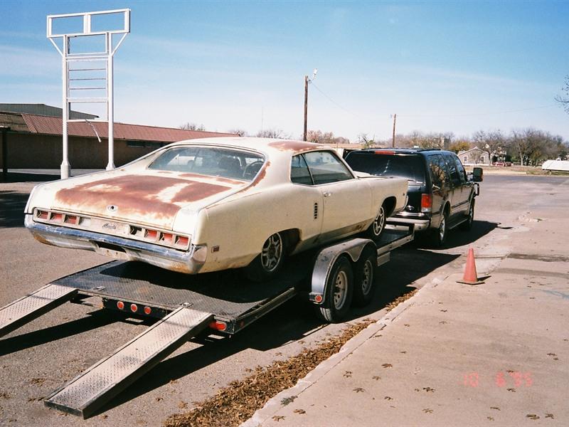 1969 Mercury Marauder X-100 429 SCJ engine - Antique Car - Fort ...