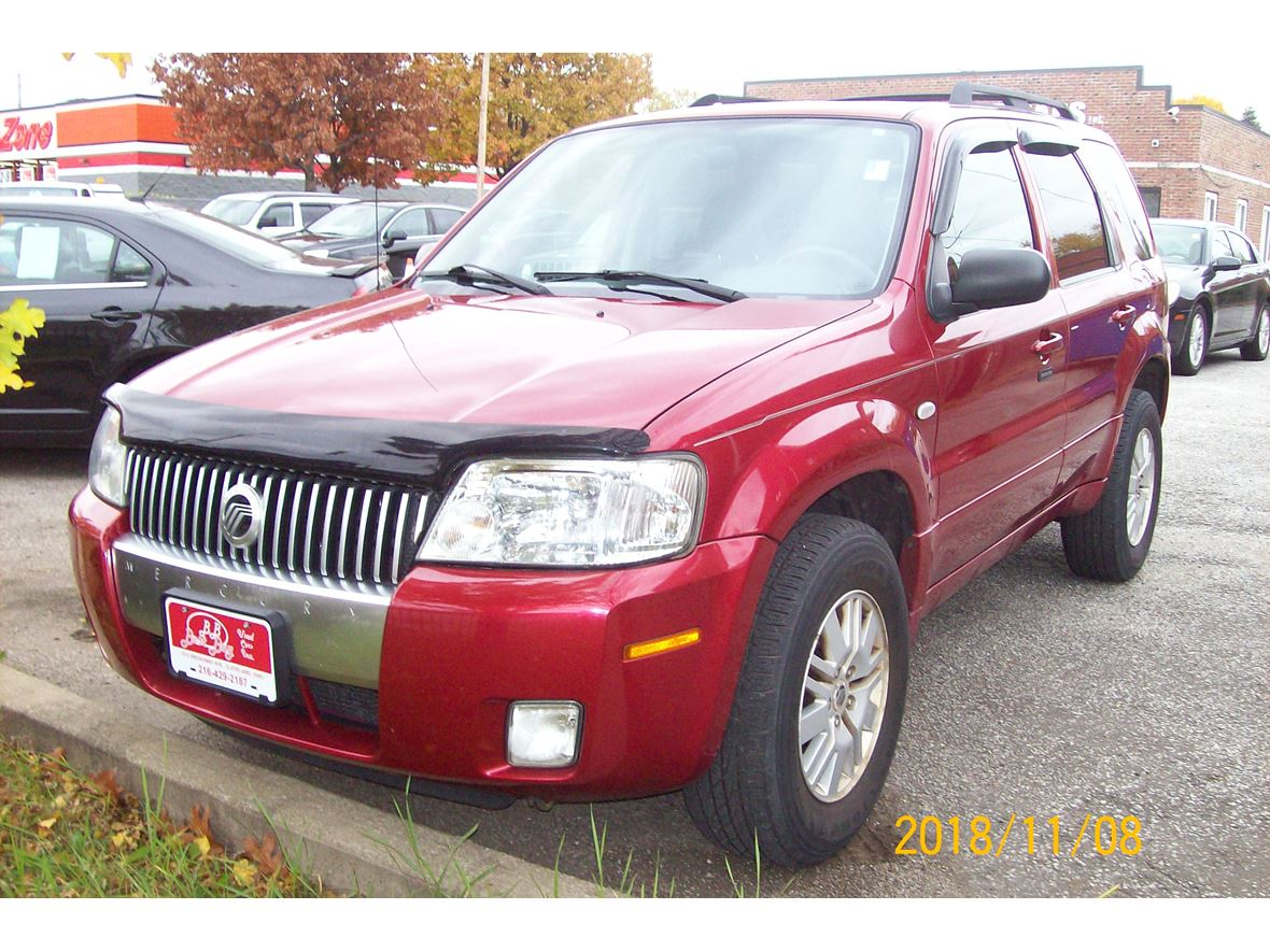2007 mercury mariner for sale by owner in cleveland oh 44105. Black Bedroom Furniture Sets. Home Design Ideas