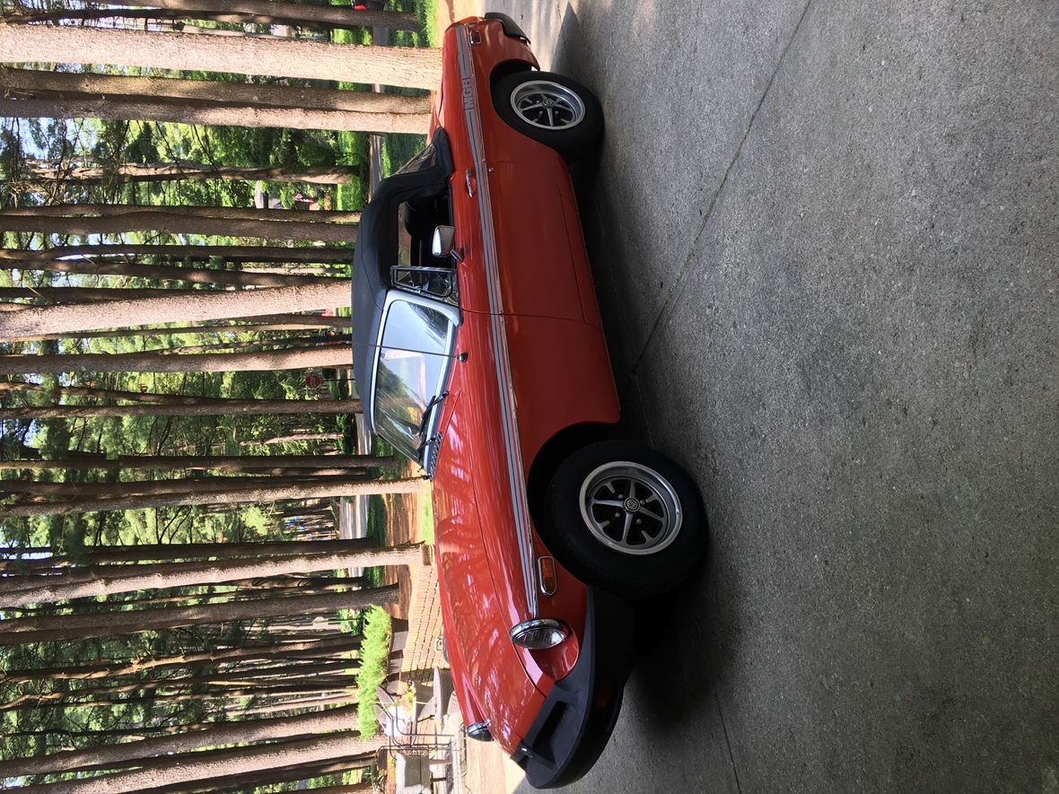 1975 MG MGB for sale by owner in Indianapolis