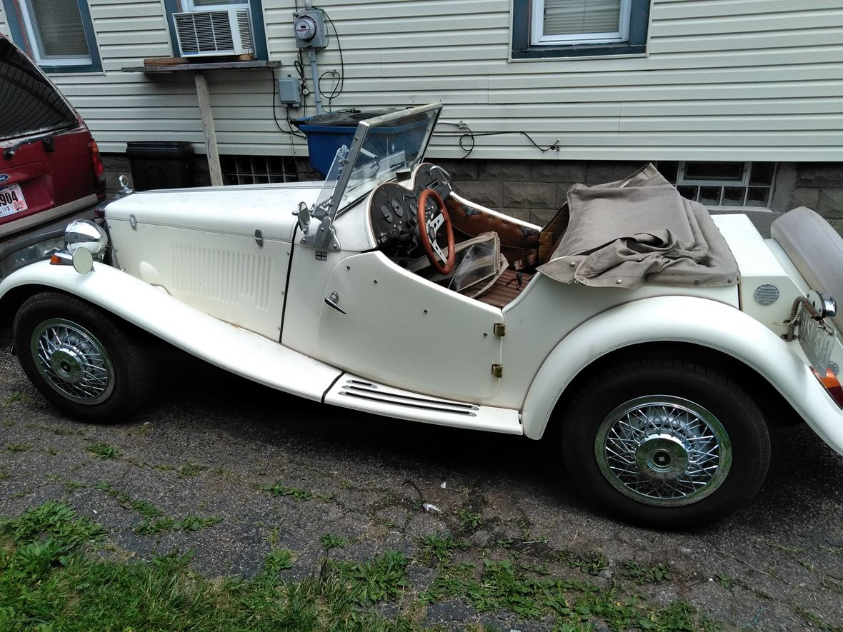 1953 MG TC for sale by owner in Lorain