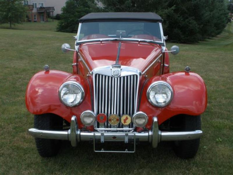 1953 MG Td 20283 for sale by owner in Pillow