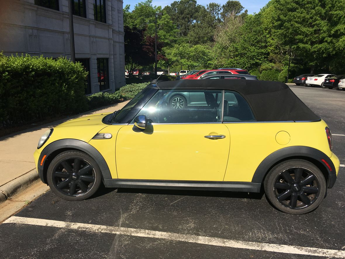 2009 mini cooper for sale by owner in cary nc 27512. Black Bedroom Furniture Sets. Home Design Ideas