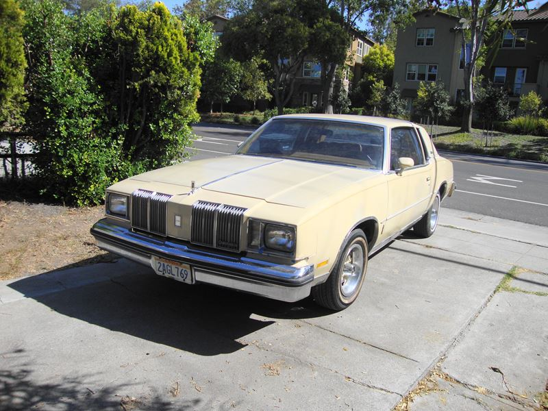 1979 Oldsmobile Cutlass Supreme for Sale by Owner in Sunnyvale, CA 94089 -  $4,470