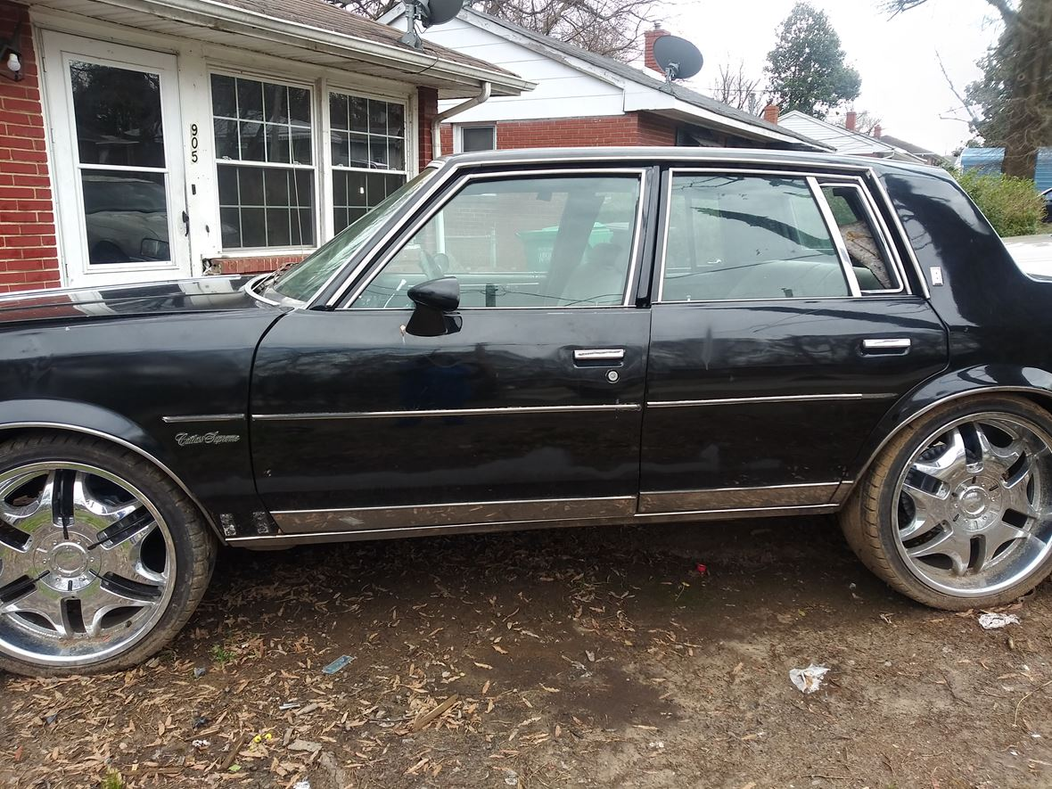 1987 Oldsmobile Cutlass Supreme for sale by owner in High Point
