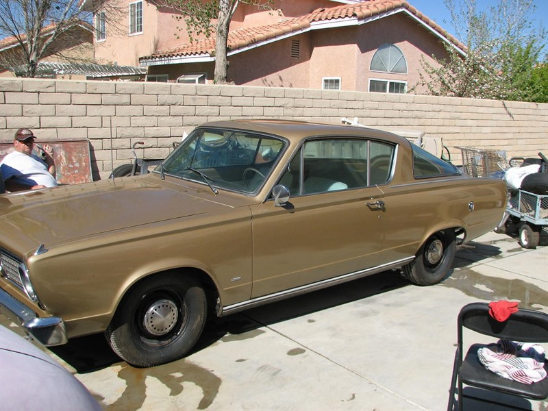 1966 Plymouth Barracuda for Sale by Owner in Rosamond, CA 93560 - $9,500