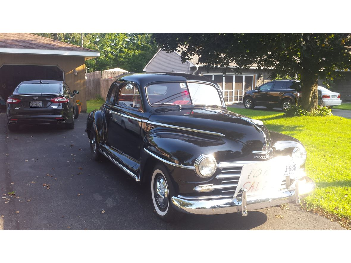 1948 Plymouth Business  coupe for sale by owner in Rome