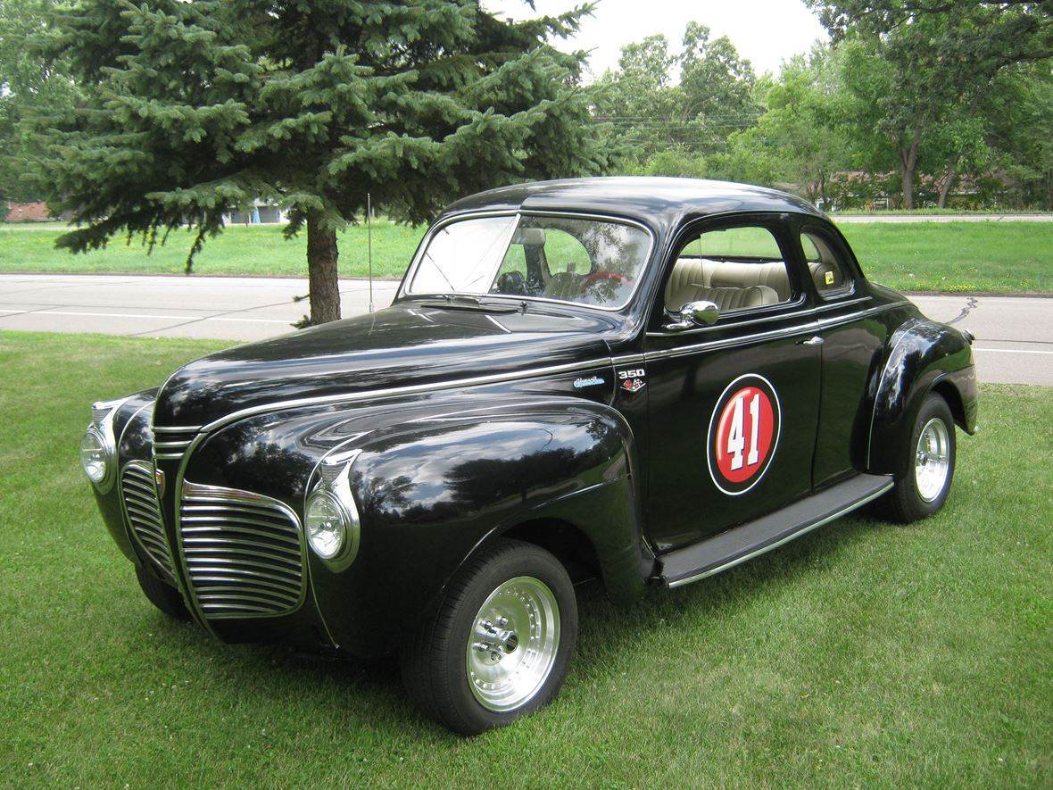 1941 plymouth coupe deluxe antique car minnetonka mn 55345. Black Bedroom Furniture Sets. Home Design Ideas