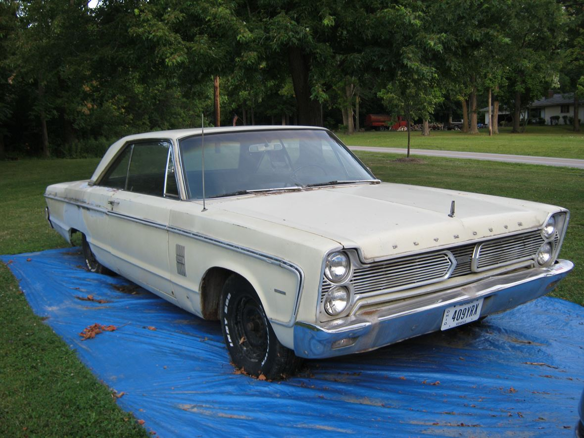1966 Plymouth Fury III For Sale By Owner In Strongsville