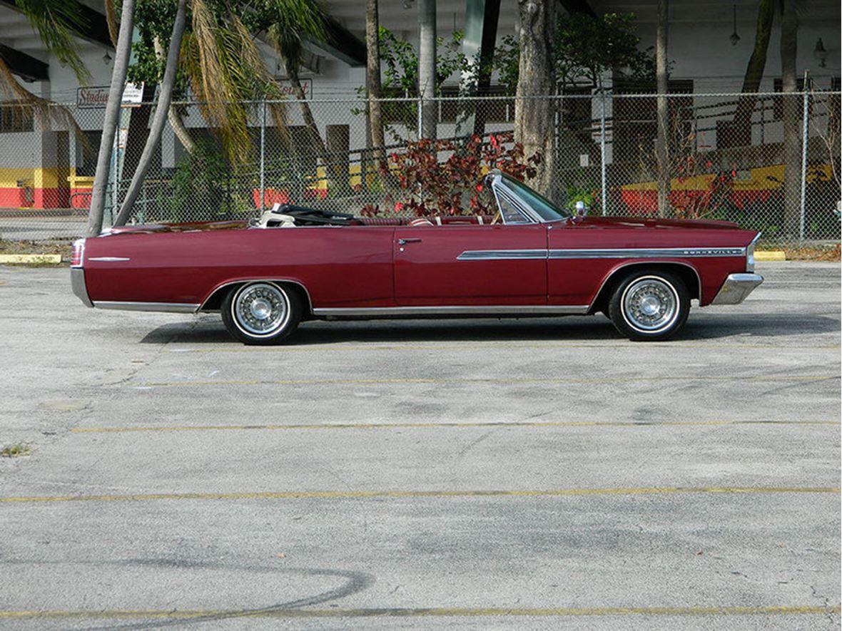 1963 Pontiac Bonneville Antique Car Jackson Ms 39204