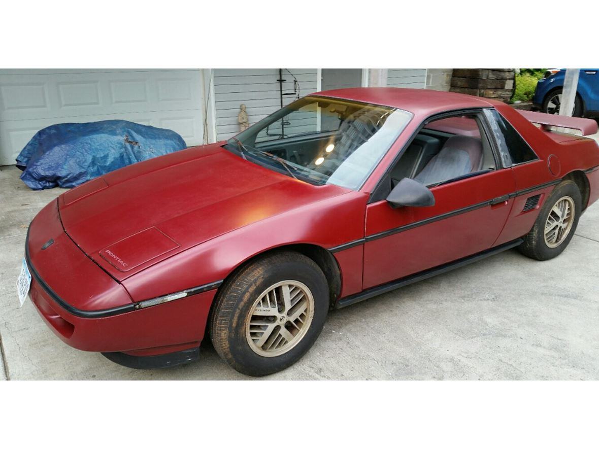 1987 Pontiac Fiero For Sale By Owner In Cosby