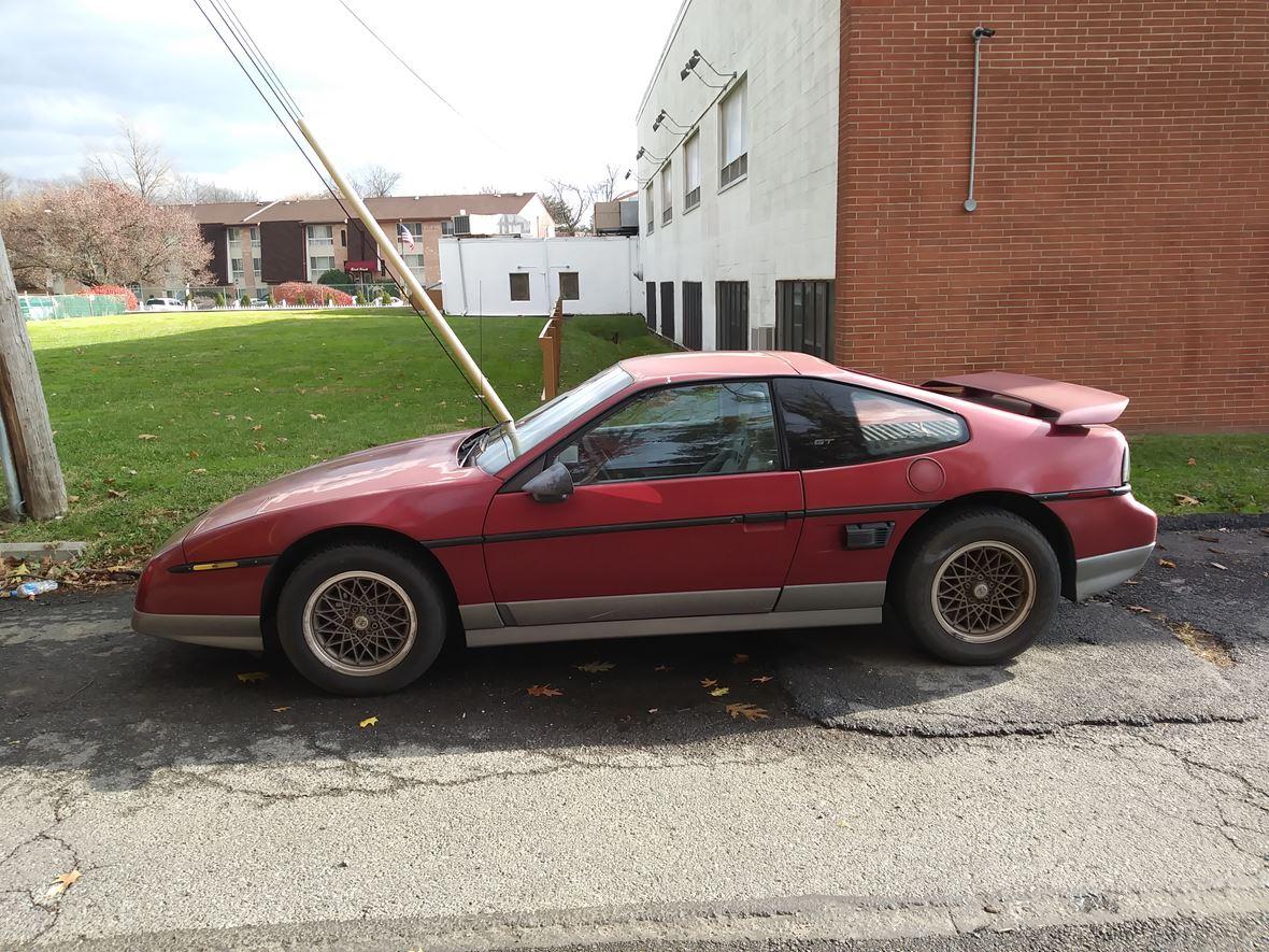 1987 Pontiac Fiero For Sale By Owner In Philadelphia