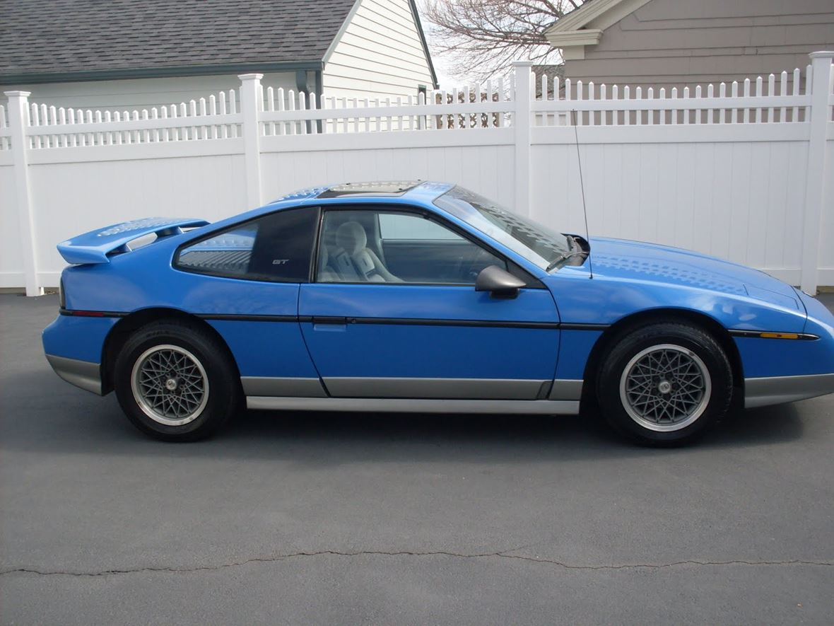 1987 Pontiac Fiero GT For Sale By Owner In East Haven