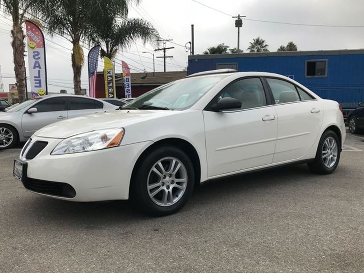 Pontiac G6 For Sale >> 2005 Pontiac G6 For Sale By Owner In Van Nuys Ca 91405