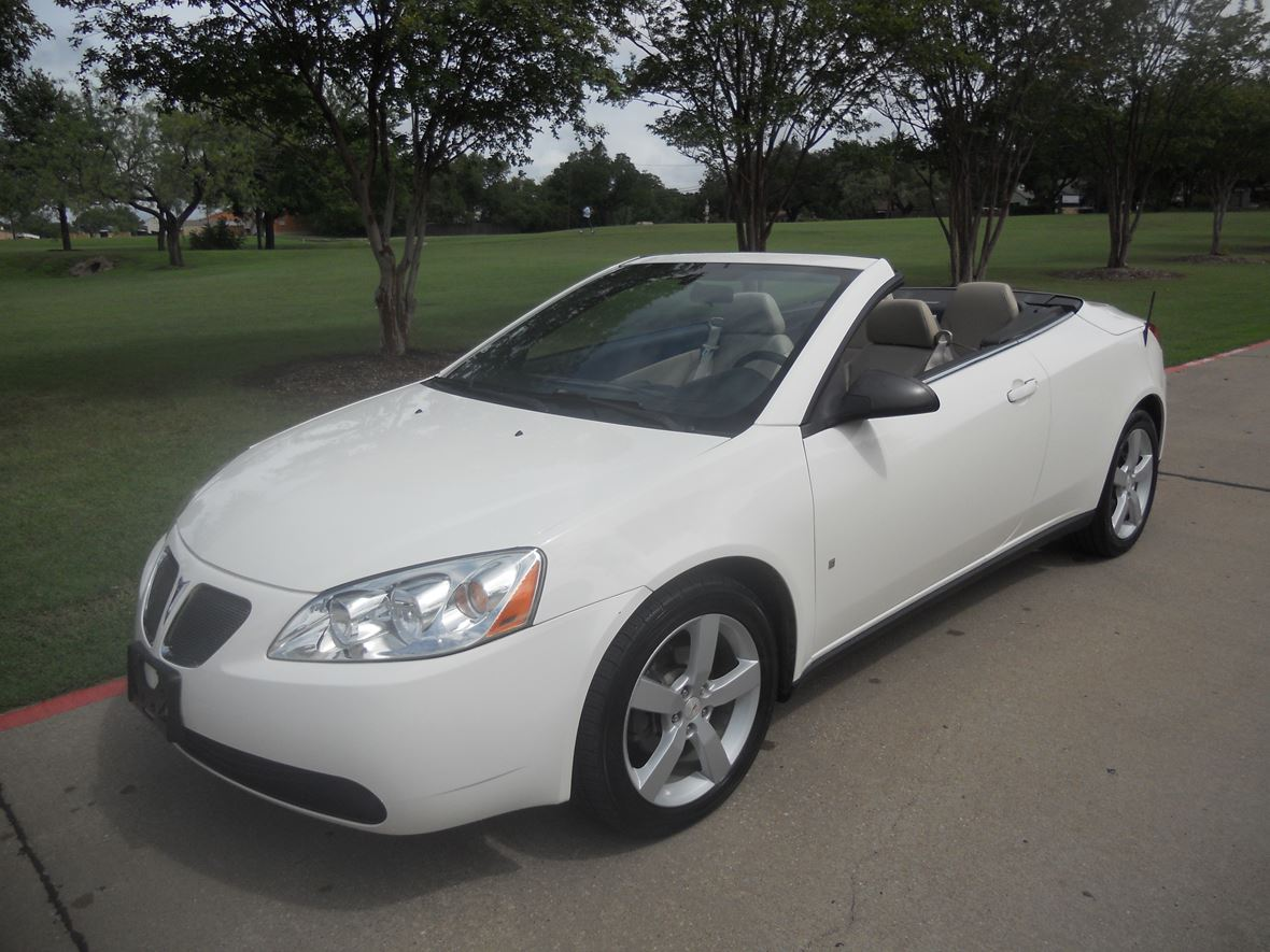 2007 Pontiac G6 Gt Convertible For By Owner In Haltom City
