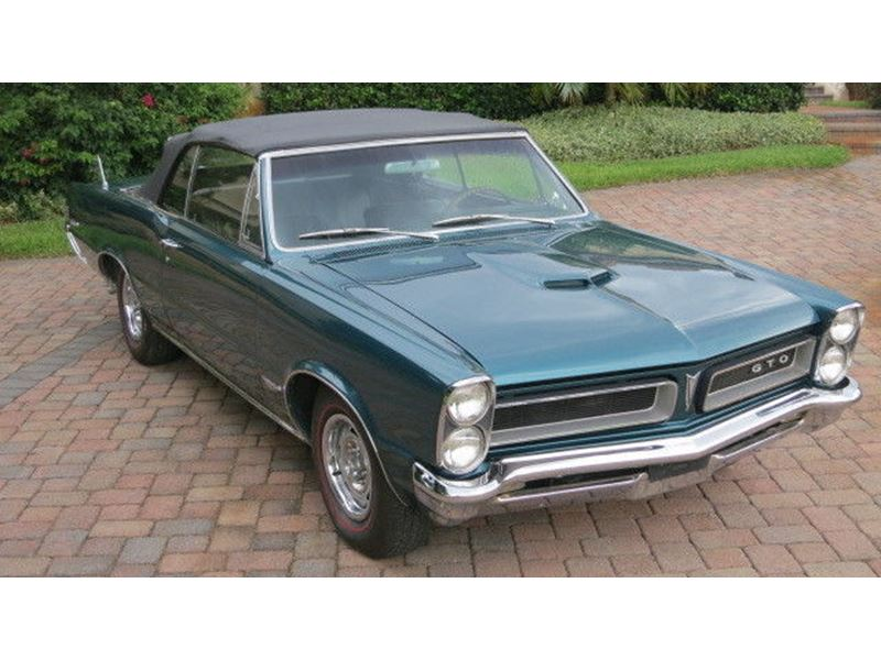 1965 Pontiac GTO for sale by owner in JACKSONVILLE