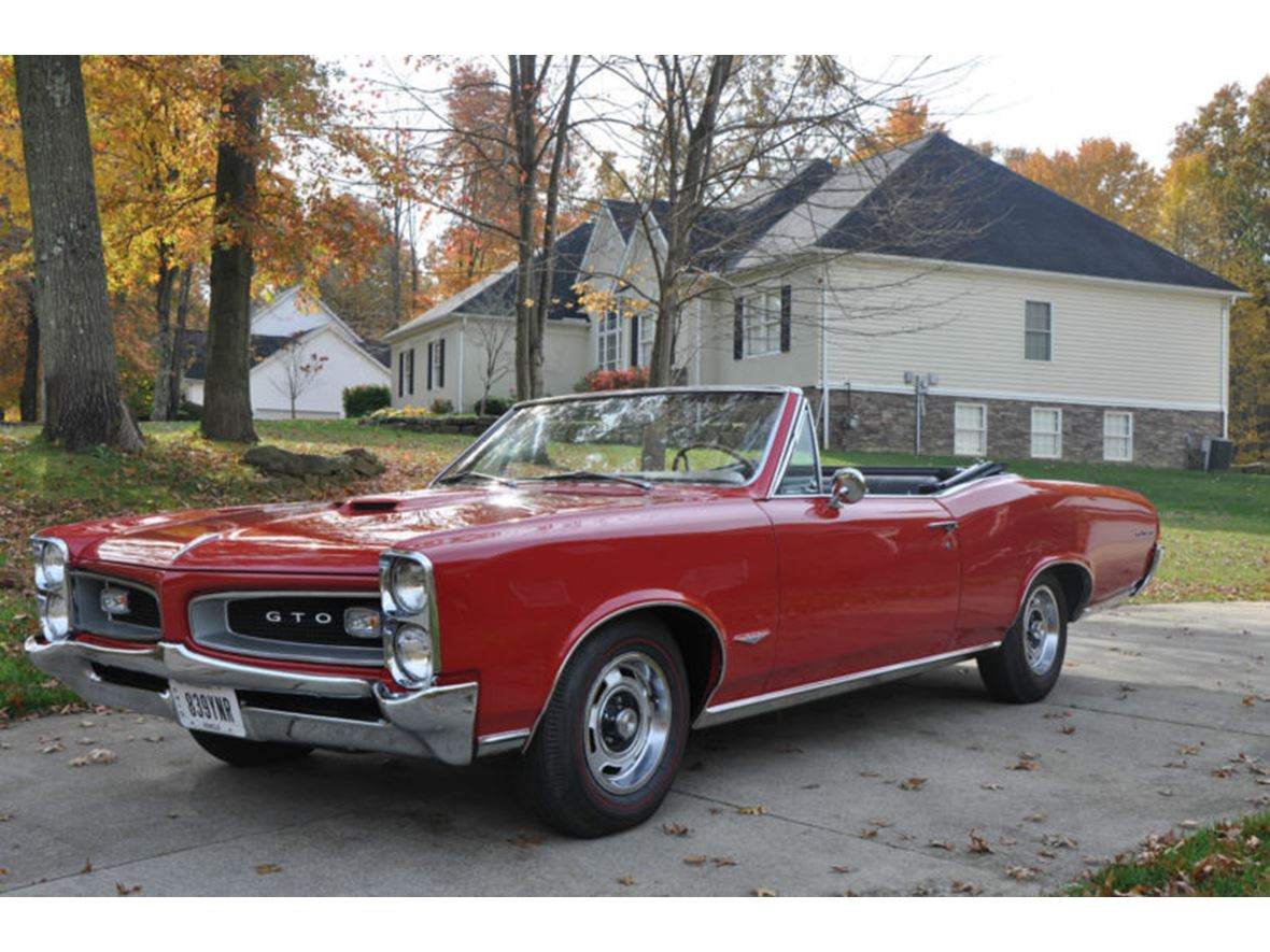1966 Pontiac GTO for sale by owner in Burton