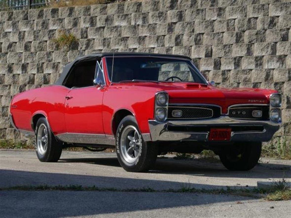1967 pontiac gto antique car jacksonville tx 75766. Black Bedroom Furniture Sets. Home Design Ideas