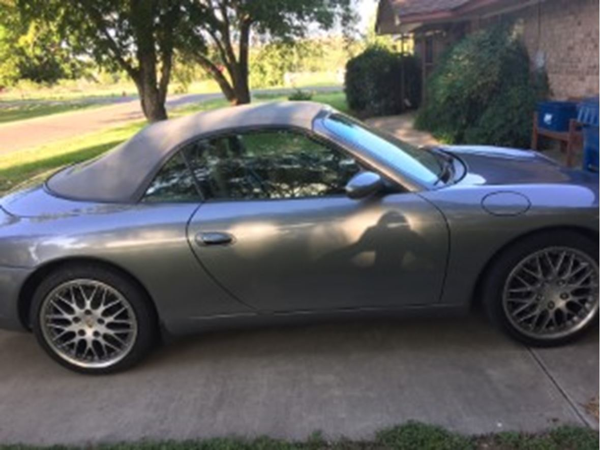 2001 Porsche 911 for sale by owner in Marble Falls