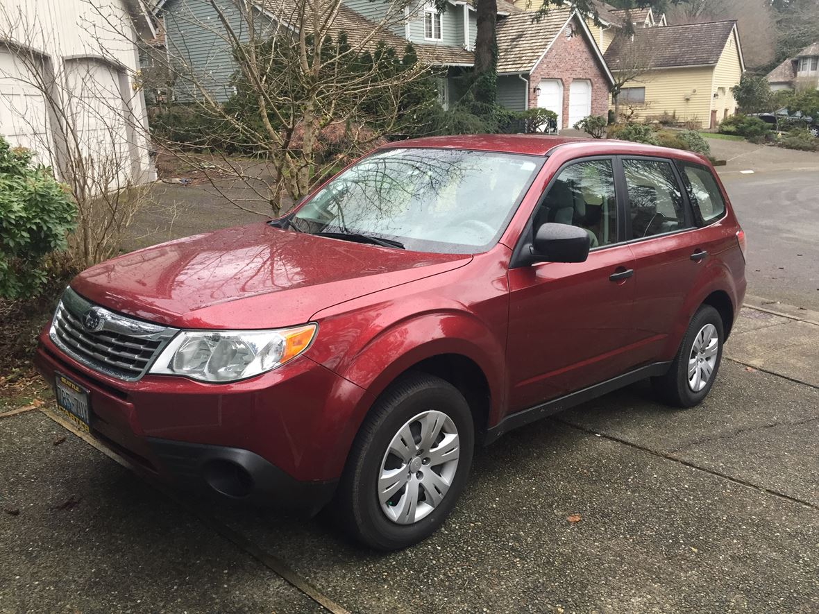 2010 subaru forester for sale by owner in redmond wa 98052. Black Bedroom Furniture Sets. Home Design Ideas