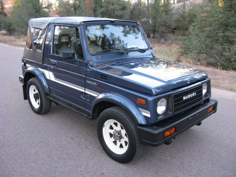 1986 suzuki samurai classic car payson az 85541. Black Bedroom Furniture Sets. Home Design Ideas