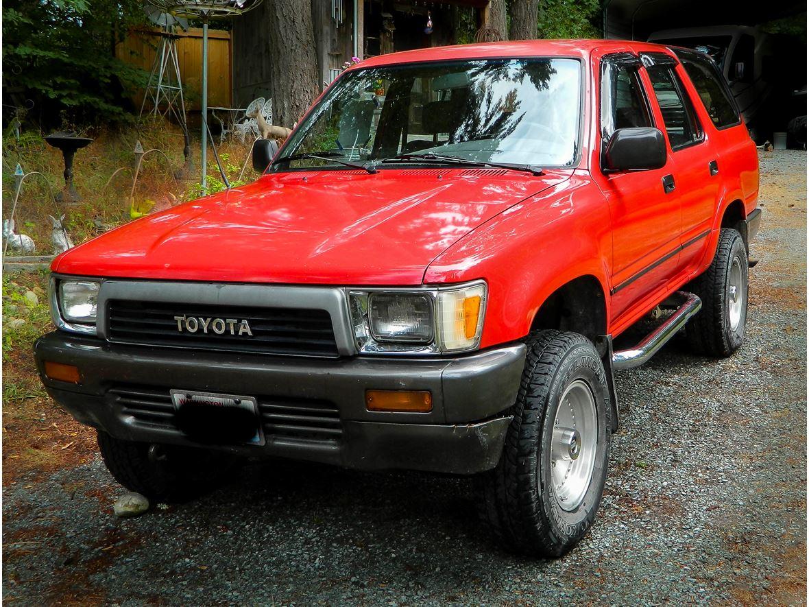 1990 Toyota 4runner Classic Car Auburn Wa 98092