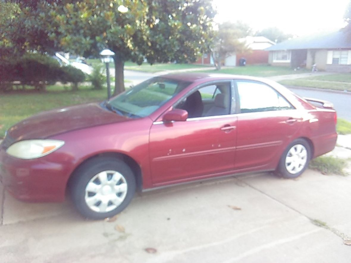 2002 Toyota Camry for sale by owner in Oklahoma City
