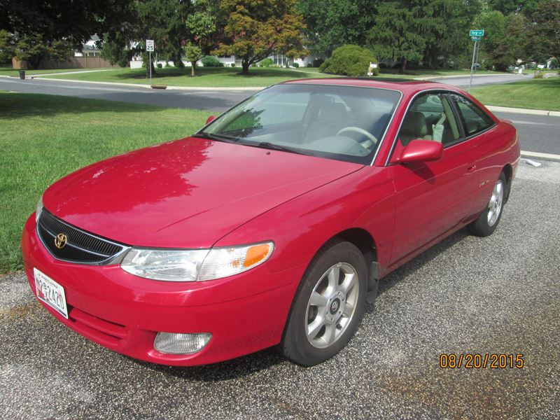 1999 toyota camry solara for sale by owner in baltimore md 21297. Black Bedroom Furniture Sets. Home Design Ideas