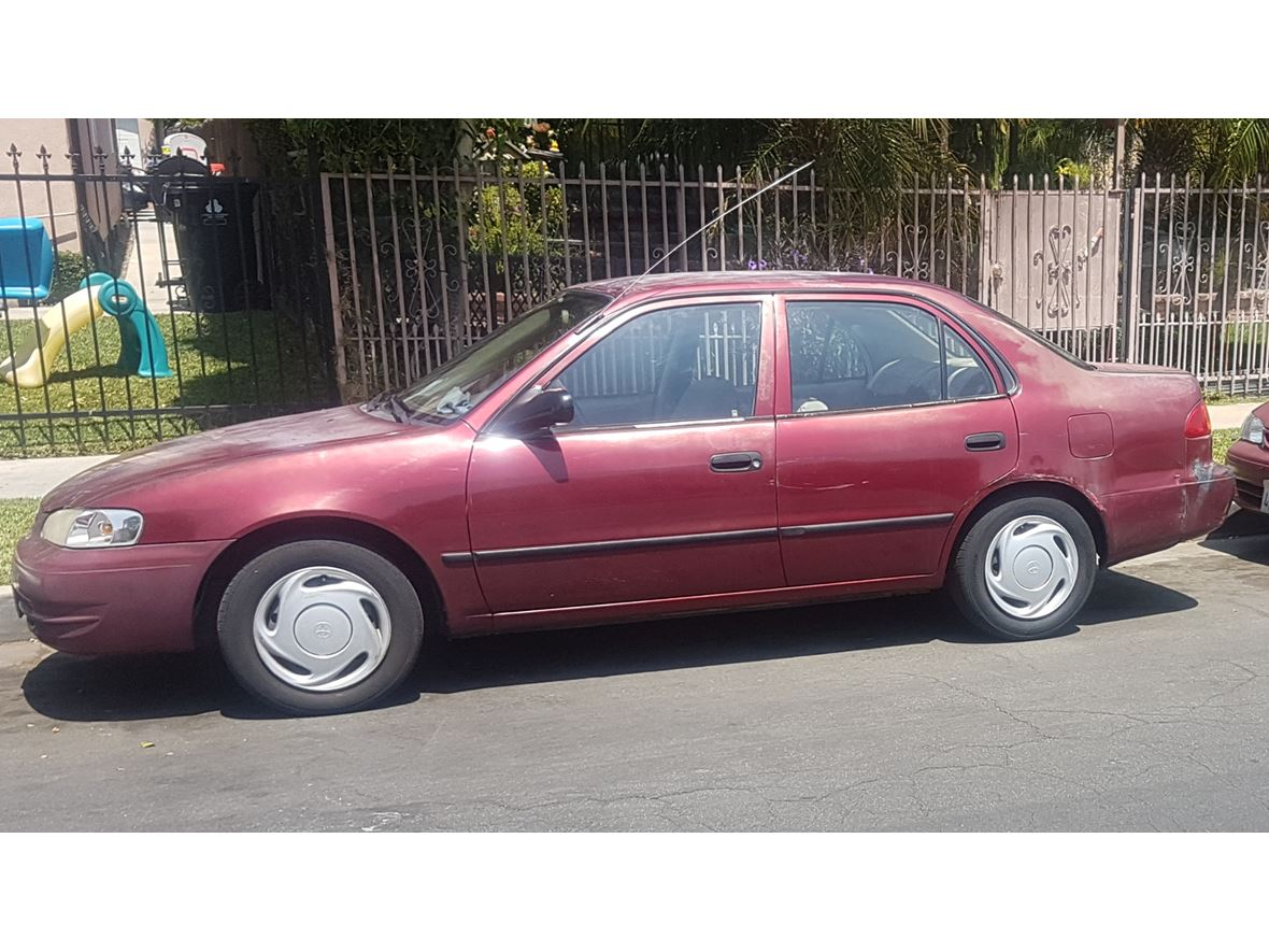 1999 toyota corolla for sale by owner in los angeles ca 90011. Black Bedroom Furniture Sets. Home Design Ideas
