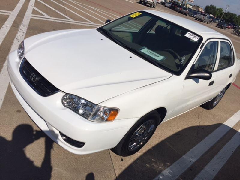 2001 toyota corolla for sale by owner in duncanville tx 75138. Black Bedroom Furniture Sets. Home Design Ideas
