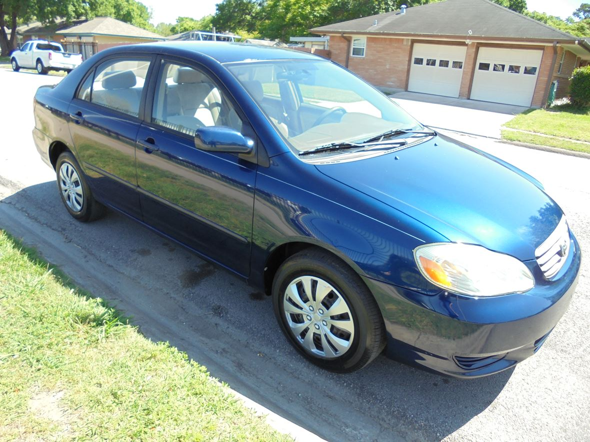 toyota corolla 2003 owner houston tx
