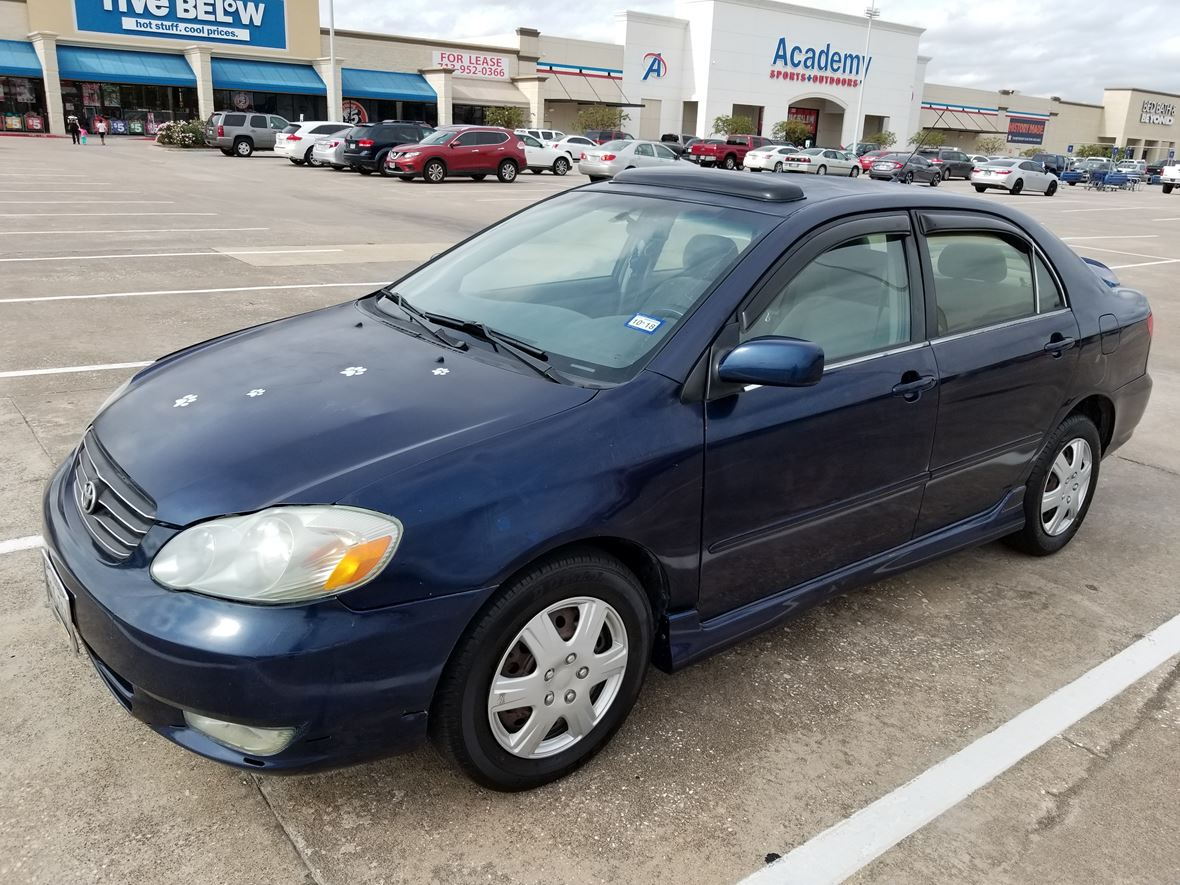 2006 Toyota Corolla for sale by owner in Houston