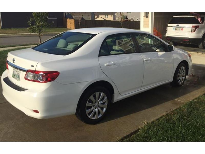 2012 Toyota Corolla For Sale By Owner In Nashville Tn 37250