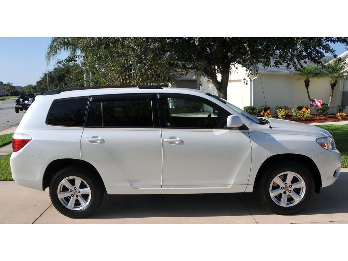 2008 Toyota Highlander For Sale >> 2008 Toyota Highlander For Sale By Owner In Port Orange Fl 32129 8 800
