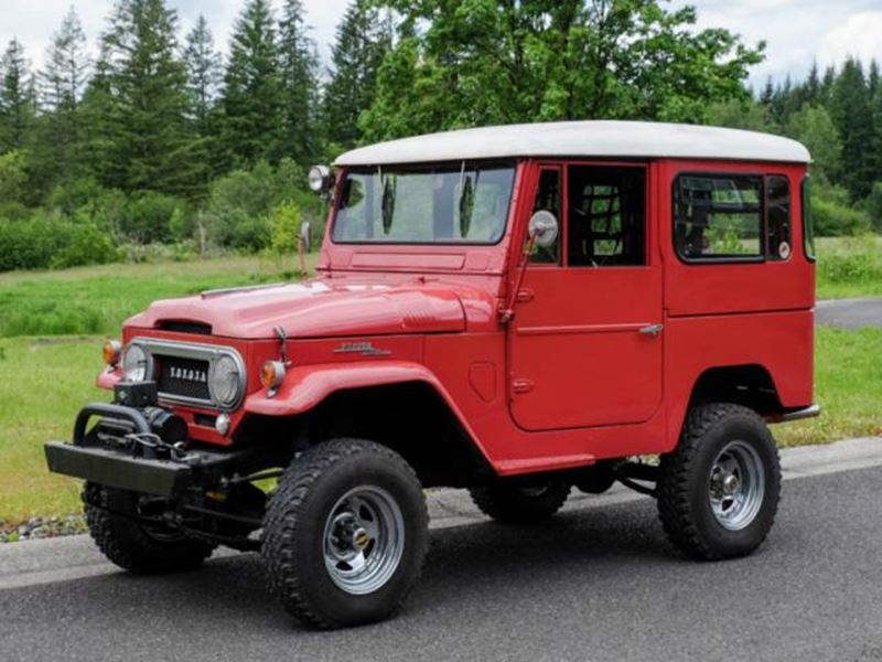 1966 Toyota Land Cruiser for sale by owner in Preston
