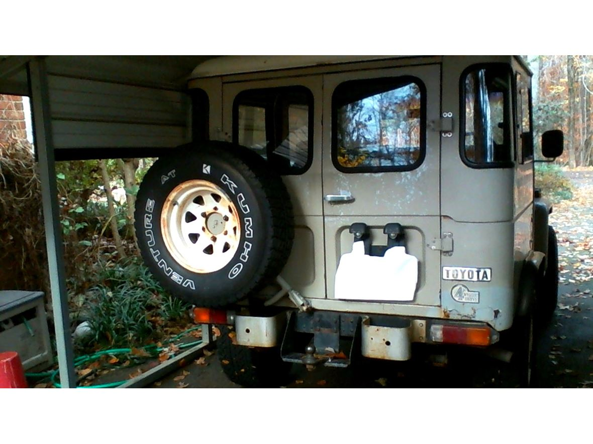 1978 Toyota Land Cruiser For Sale By Owner In Greensboro