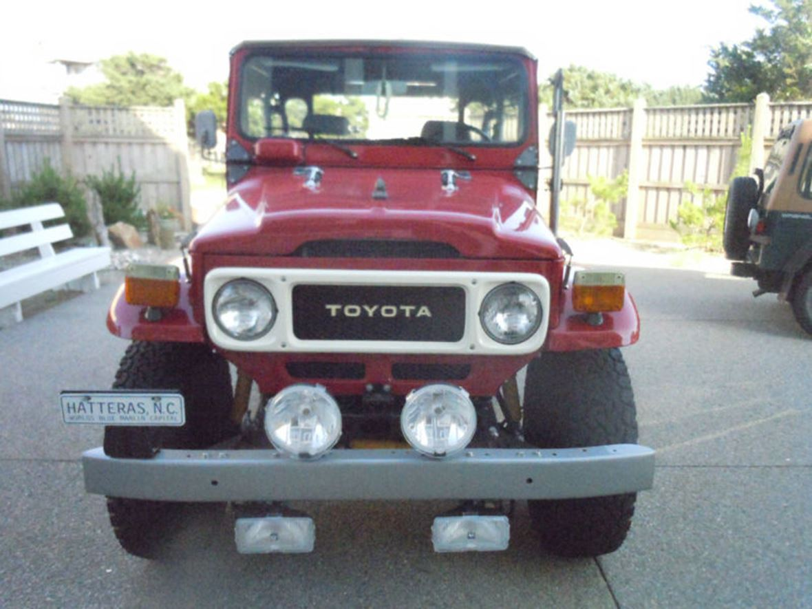 1979 Toyota Land Cruiser for sale by owner in Siler City
