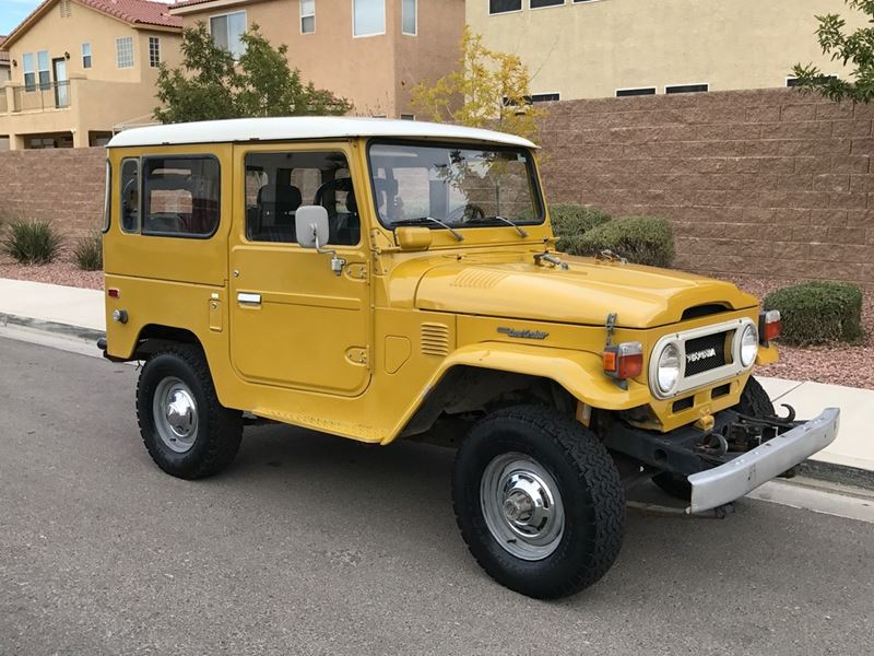 Toyota Fj40 For Sale >> 1977 Toyota Land Cruiser Fj40 For Sale By Owner In Las Vegas Nv 89158 16 000
