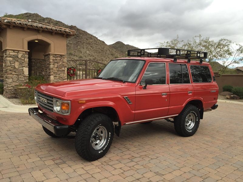 1983 Toyota Land Cruiser Fj60 Classic Car Dallas Tx 75219