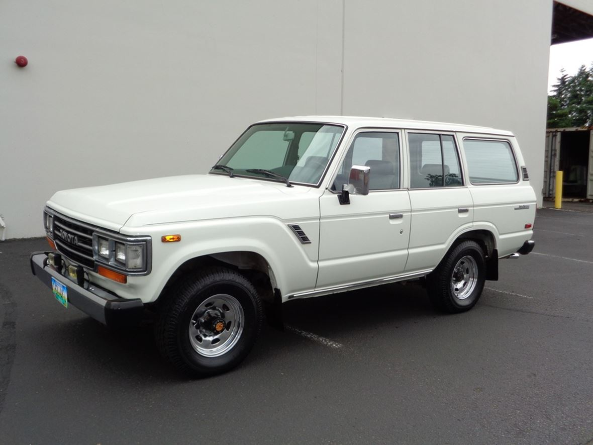 1988 Toyota Land Cruiser FJ62 For Sale By Owner In Portland