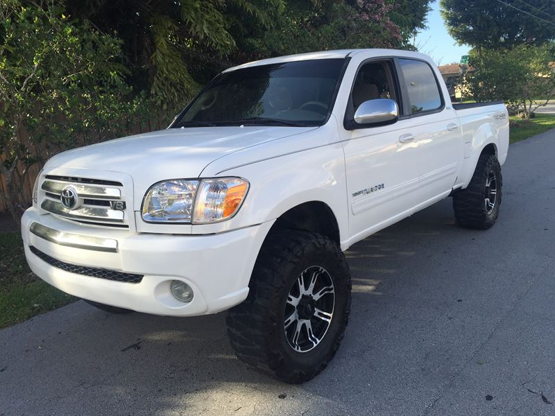 2006 Toyota tundra for sale by owner in Miami