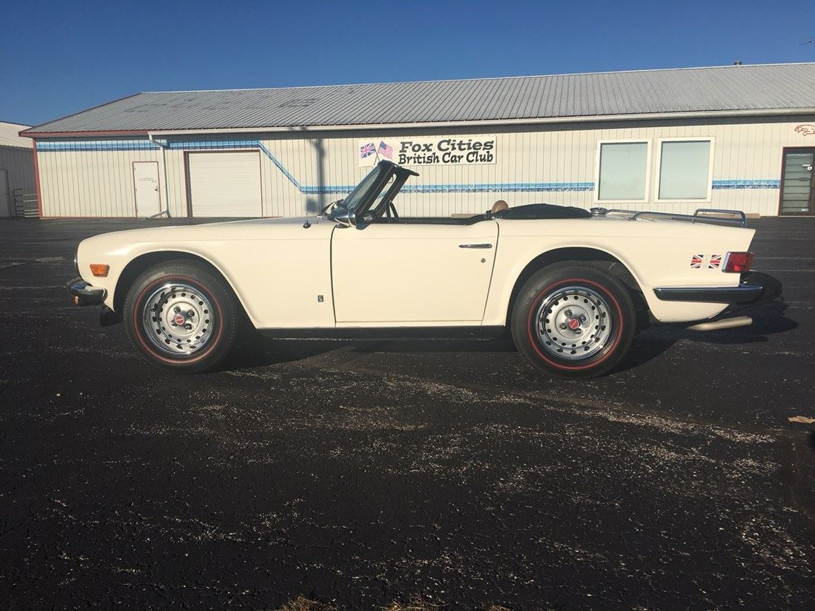 1976 Triumph TR-6 for sale by owner in Oshkosh