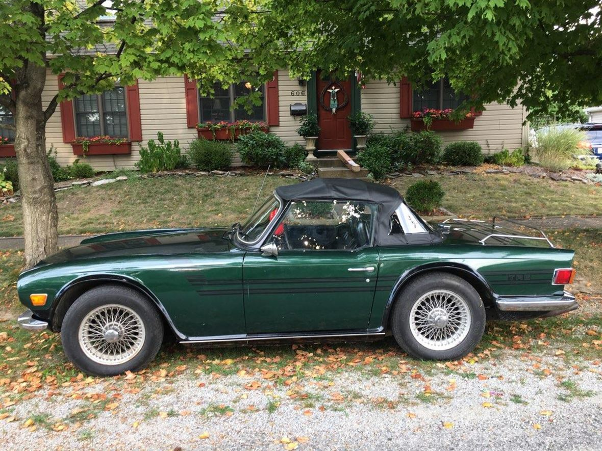 1971 Triumph Tr6 For By Owner In Terich