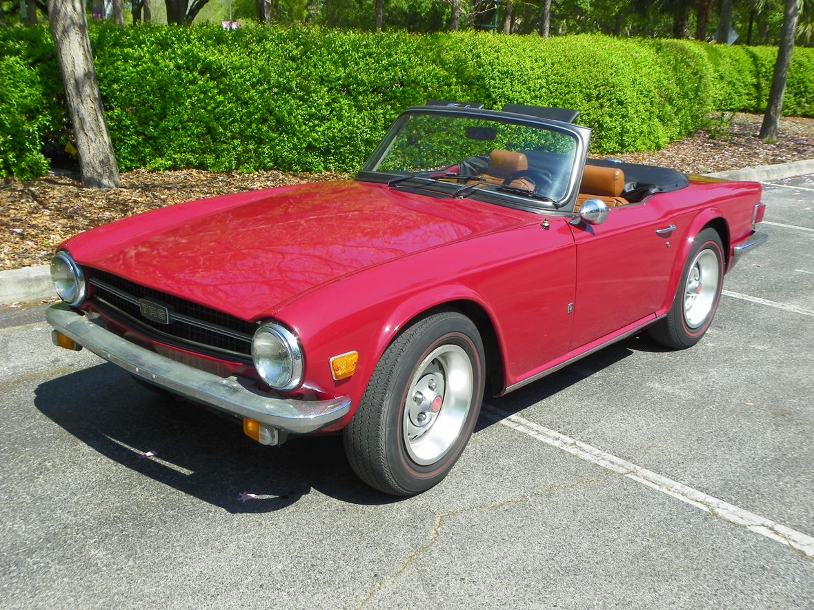 1975 Triumph TR6 for sale by owner in Largo