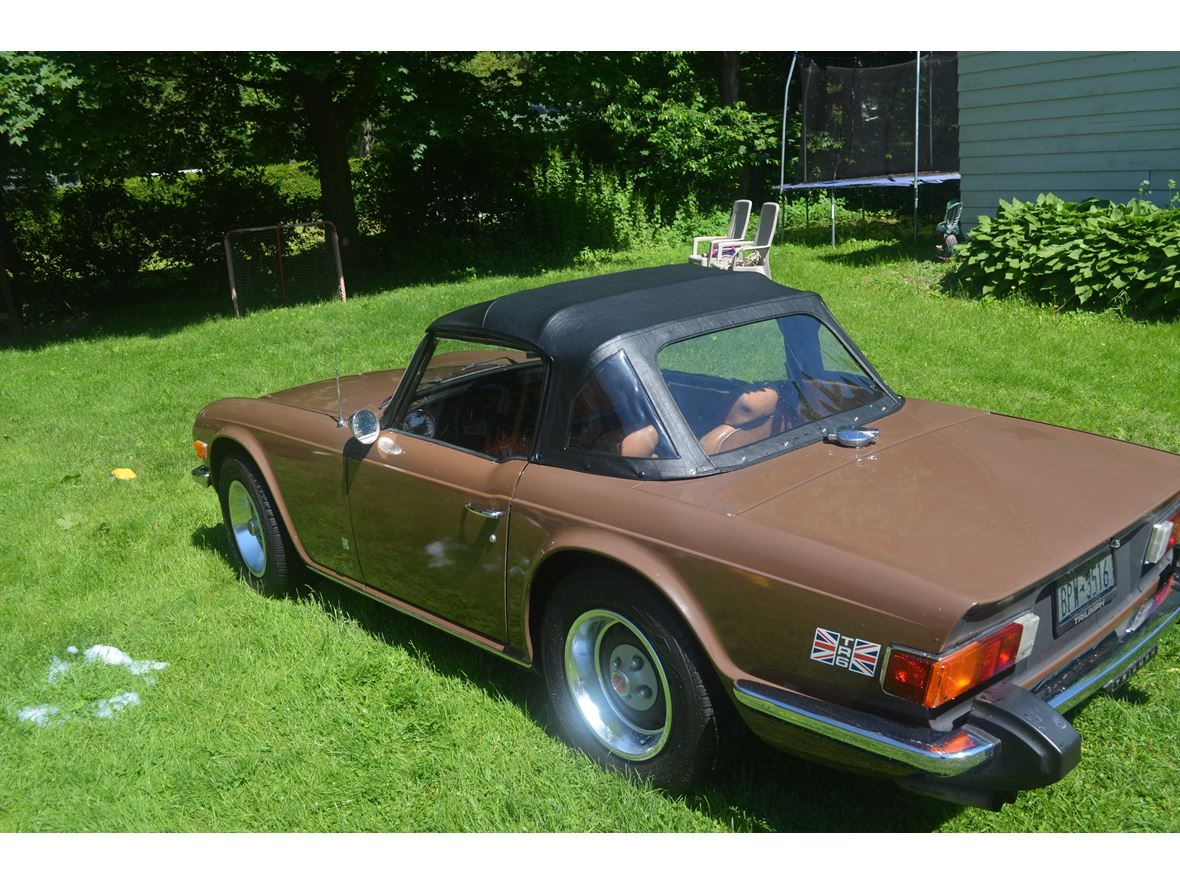 1975 Triumph TR6 for sale by owner in Rome
