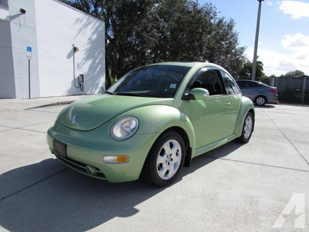 2003 Volkswagen Beetle for sale by owner in Whittier