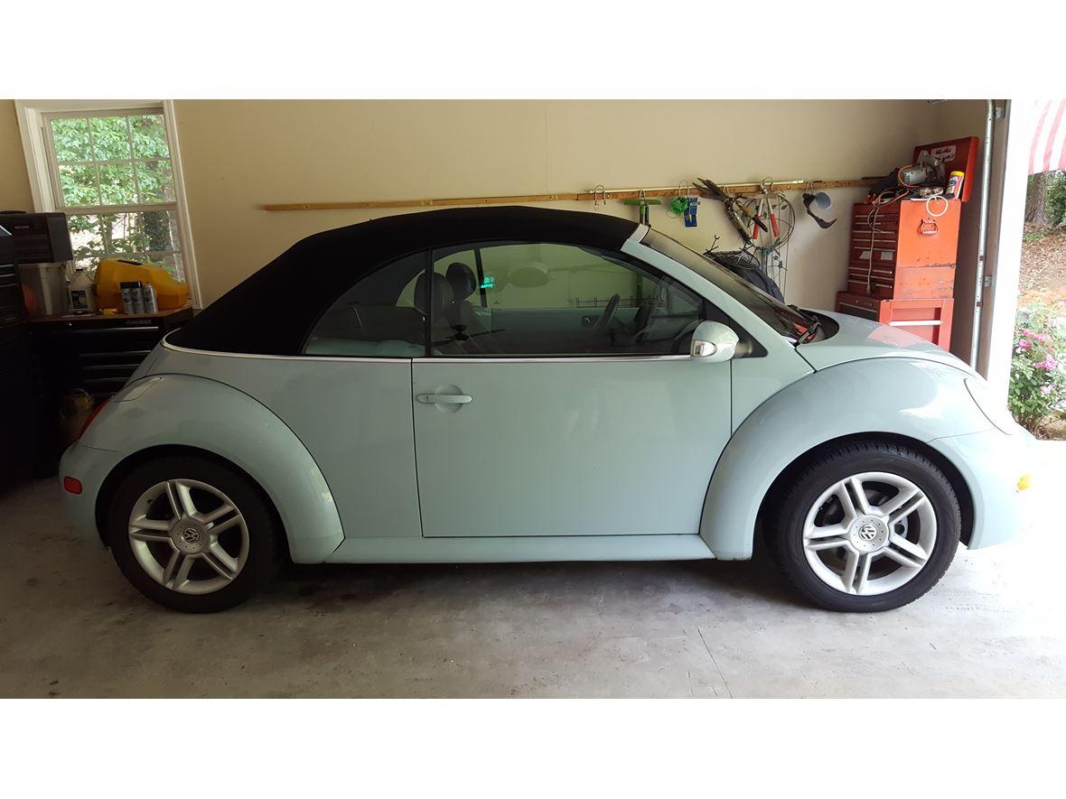 2004 volkswagen beetle convertible by owner gainesville ga 30501. Black Bedroom Furniture Sets. Home Design Ideas
