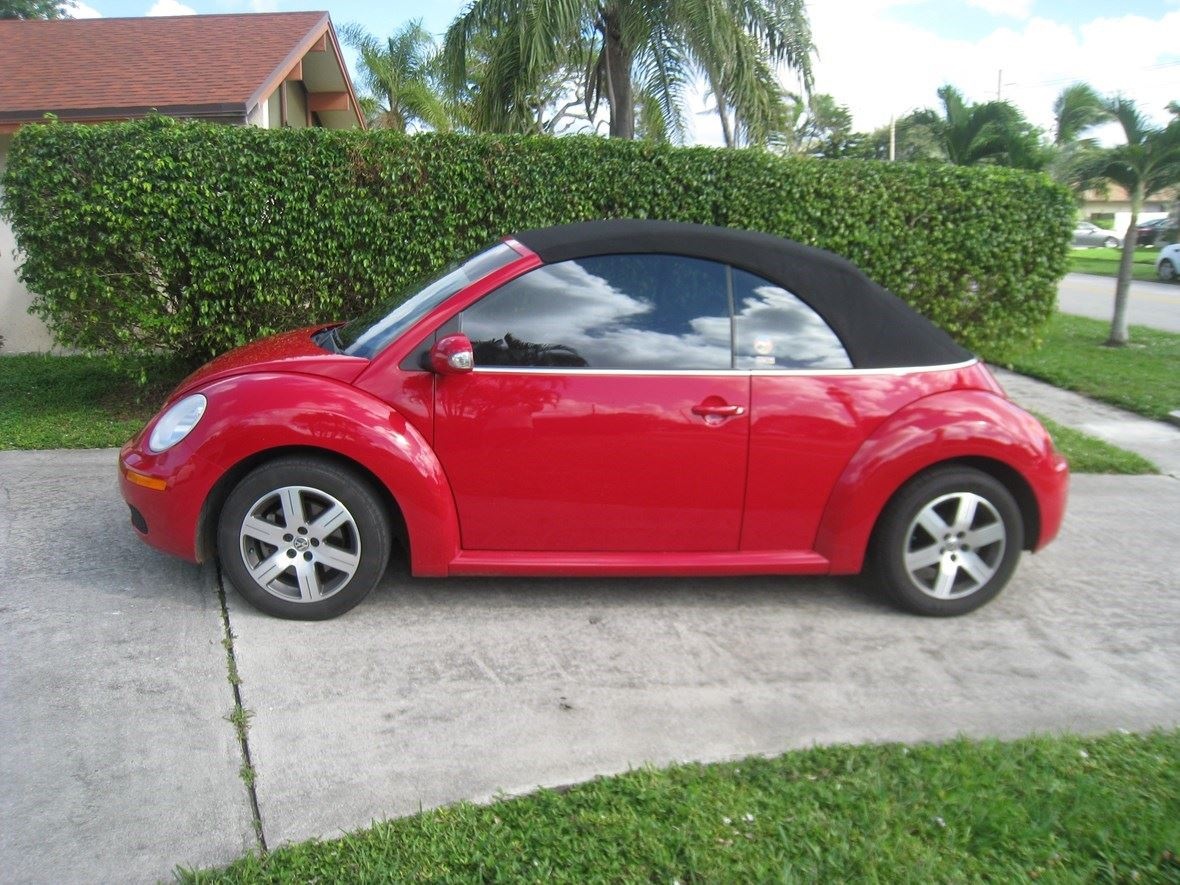 2006 Volkswagen Beetle Convertible For By Owner In West Palm Beach