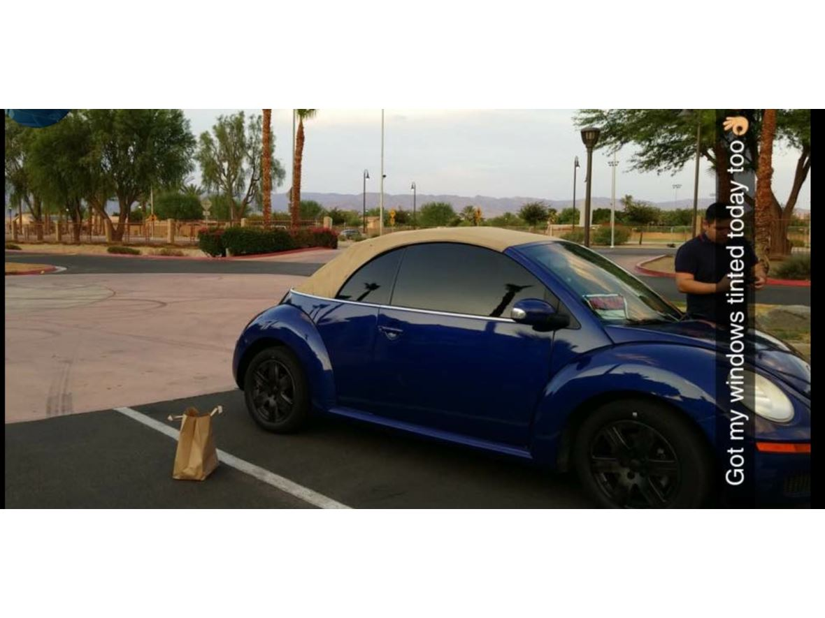 2007 Volkswagen Beetle Convertible for sale by owner in Coachella