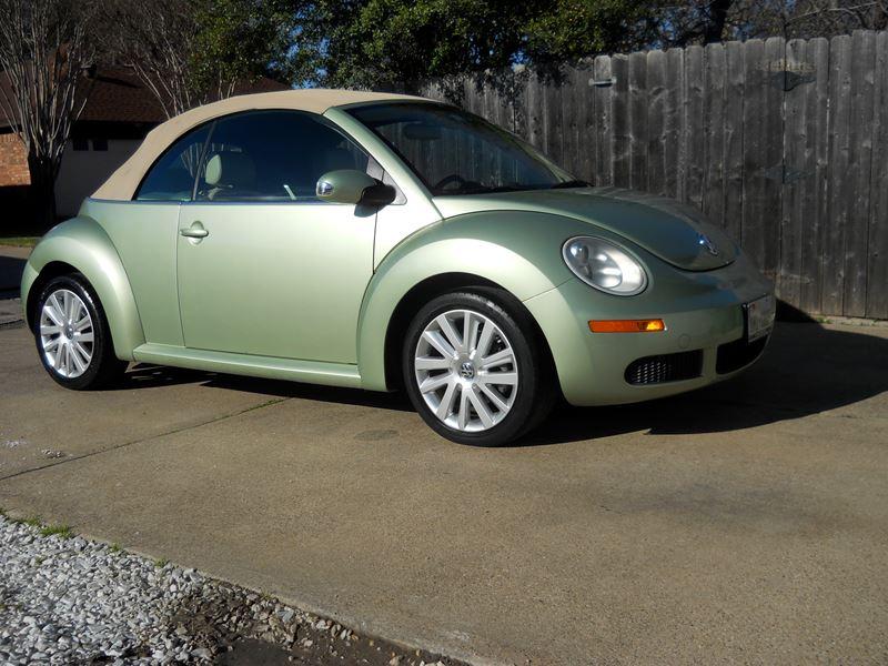 2008 Volkswagen Beetle Convertible For